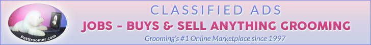 #1 Classified Ads for Pet Grooming Industry