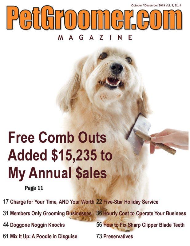 PetGroomer.com Magazine Fall 2019