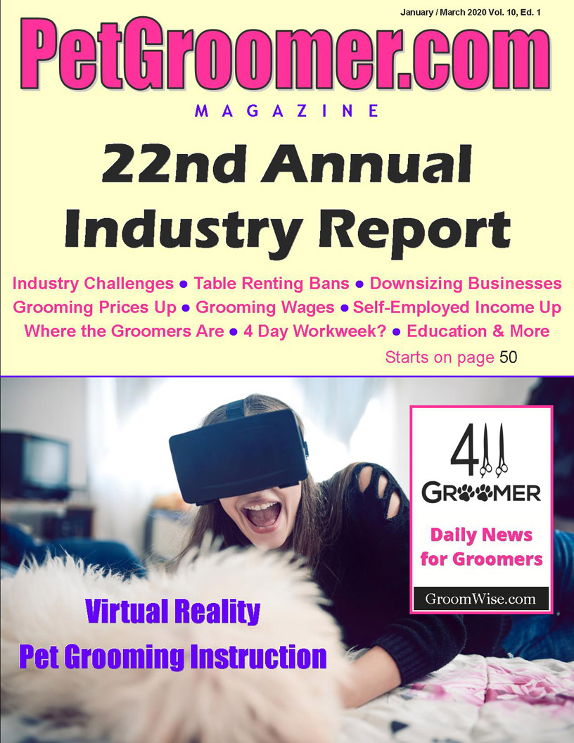Read PetGroomer.com Magazine State of the Industry Report Winter 2019 Free Online