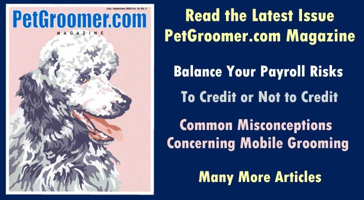 Read PetGroomer.com Magazine